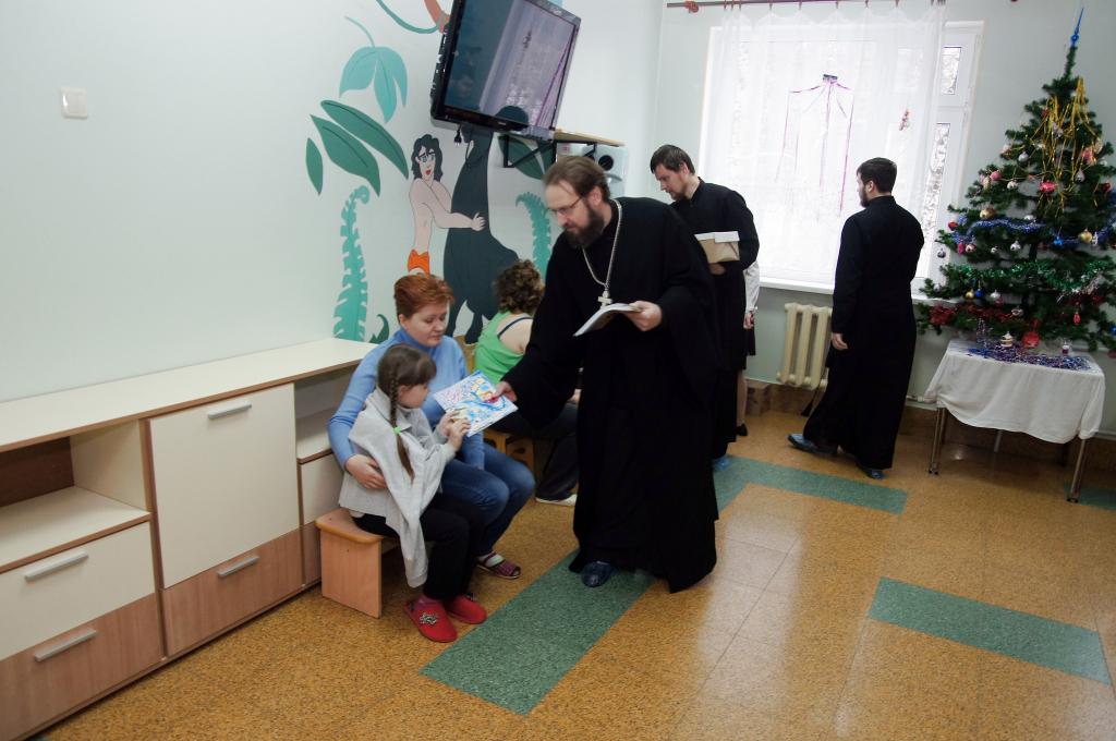Поздравление отделения больницы