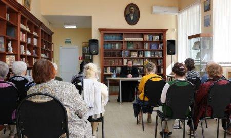 Встреча в Истринской библиотеке