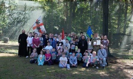 Военно - патриотическая игра в Снегирях посвященная юбилею князя Александра Невского