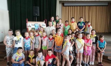 Встреча со школьниками летнего оздоровительного лагеря в Агрогородке