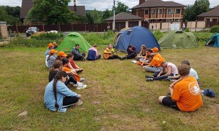 Летний лагерь воскресный школы Никольского храма села Никулино