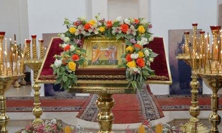 Престольный праздник Петропавловского храма в селе Новопетровское