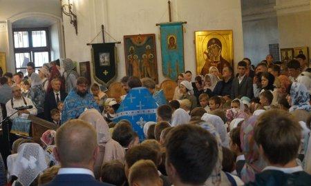 Снова в школу - День знаний в православной школе Рождество