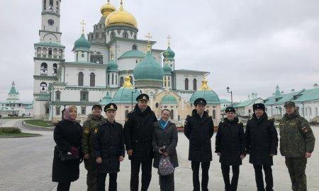Паломническая поездка военнослужащих в Новоиерусалимский монастырь