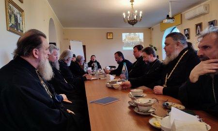 Братское совещание клириков Истринского благочиния