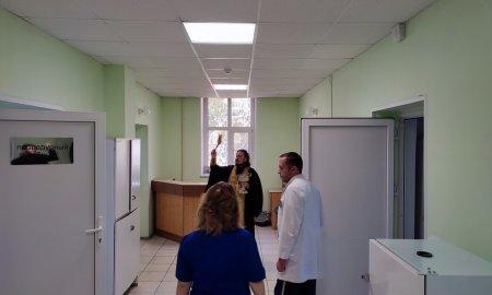 Молебен в Дедовской больнице