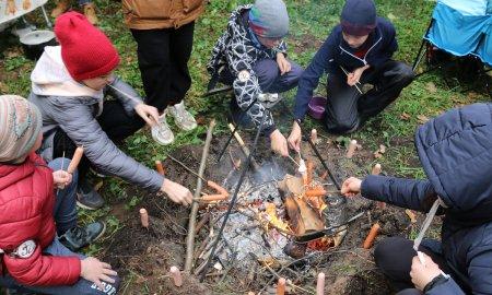 Туристический слёт православной школы «Рождество»